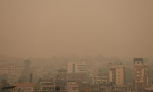 बढ्यो वायु प्रदूषण, धनगढीमा सबैभन्दा बढी